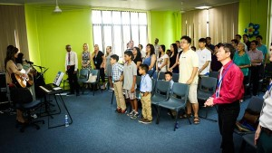 Launch of Crosslight Baptist Church in Singapore
