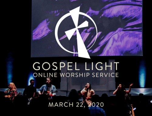 Online Worship Service – March 22, 2020