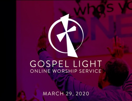 Online Worship Service – March 29, 2020